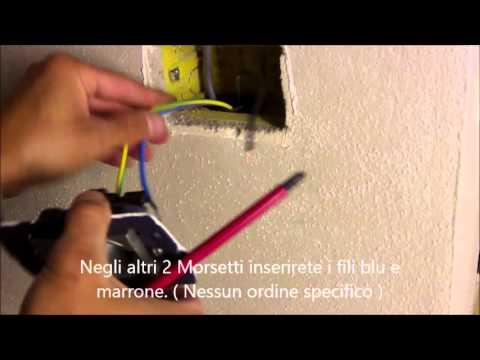 Bruno Elettricista Tutorial Installare Una Presa Elettrica Youtube