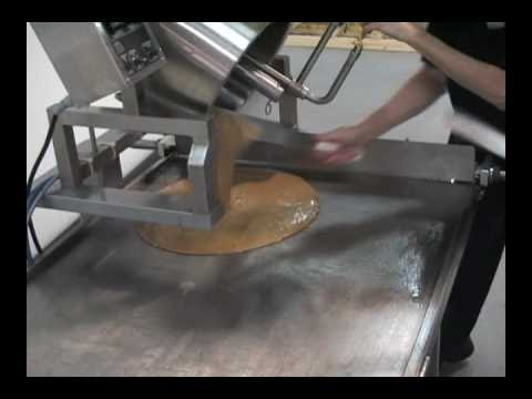 Savage Bros. Cooling Table - Pouring