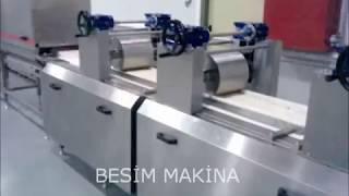 Besim Makina Helva Şekillendirme Hattı - Halva Bar Line