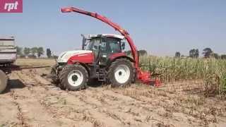 Sieczkarnia Kuhn MC 180S Quattro tnie kukurydzę - więcej w miesięczniku RPT 10/2015