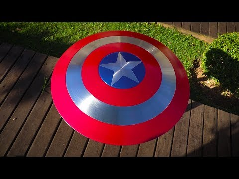 How to Make a STEEL Captain America's Shield