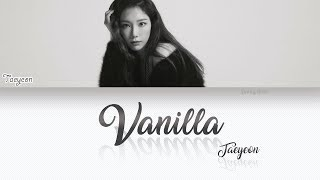 テヨン - Vanilla