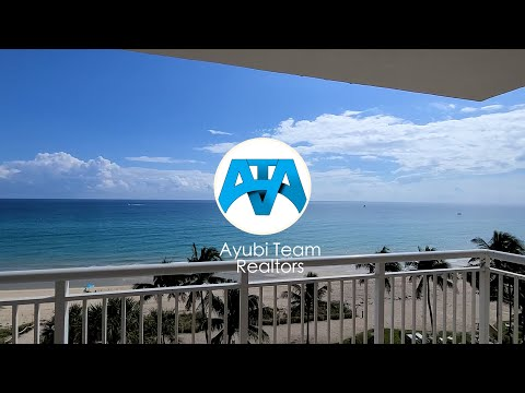 Beachfront Apartment For Sale In Hillsboro Beach! Modern And Beautiful 2 Bedrooms And 2 Bathrooms!