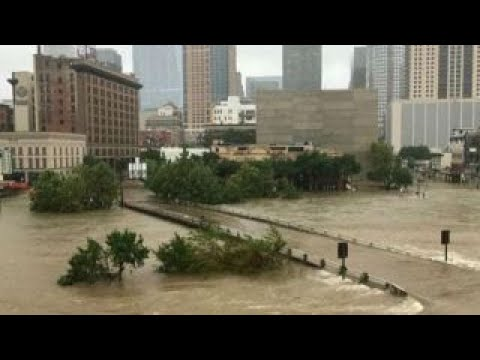 Harvey makes landfall again