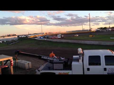 6-15-14 Casino Speedway Latemodel Feature Start