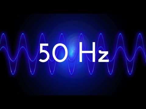 50 Hz clean sine wave BASS TEST TONE