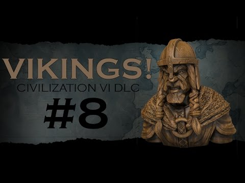 Civilization 6 Gameplay - Vikings, Traders and Raiders DLC - Episode 8: The Great Novgorod Migration