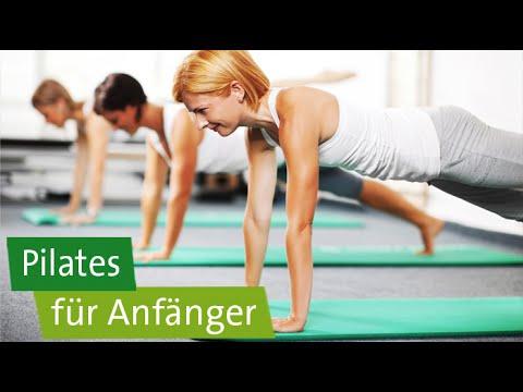 Pilates Für Anfänger - 3 Übungen: Beinbögen, Bridging, Hundreds
