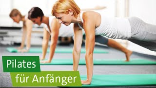 Pilates für Anfänger - 3 Übungen: Beinbögen, Bridging, Hundreds