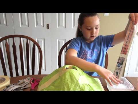 Baking Soda and Vinegar Volcano - School Project - Havertown