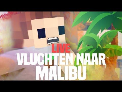 VLUCHTEN NAAR MALIBU!! MINETOPIA LIVE!