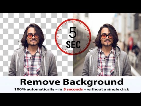 Photo Background Remove Just 5 Seconds