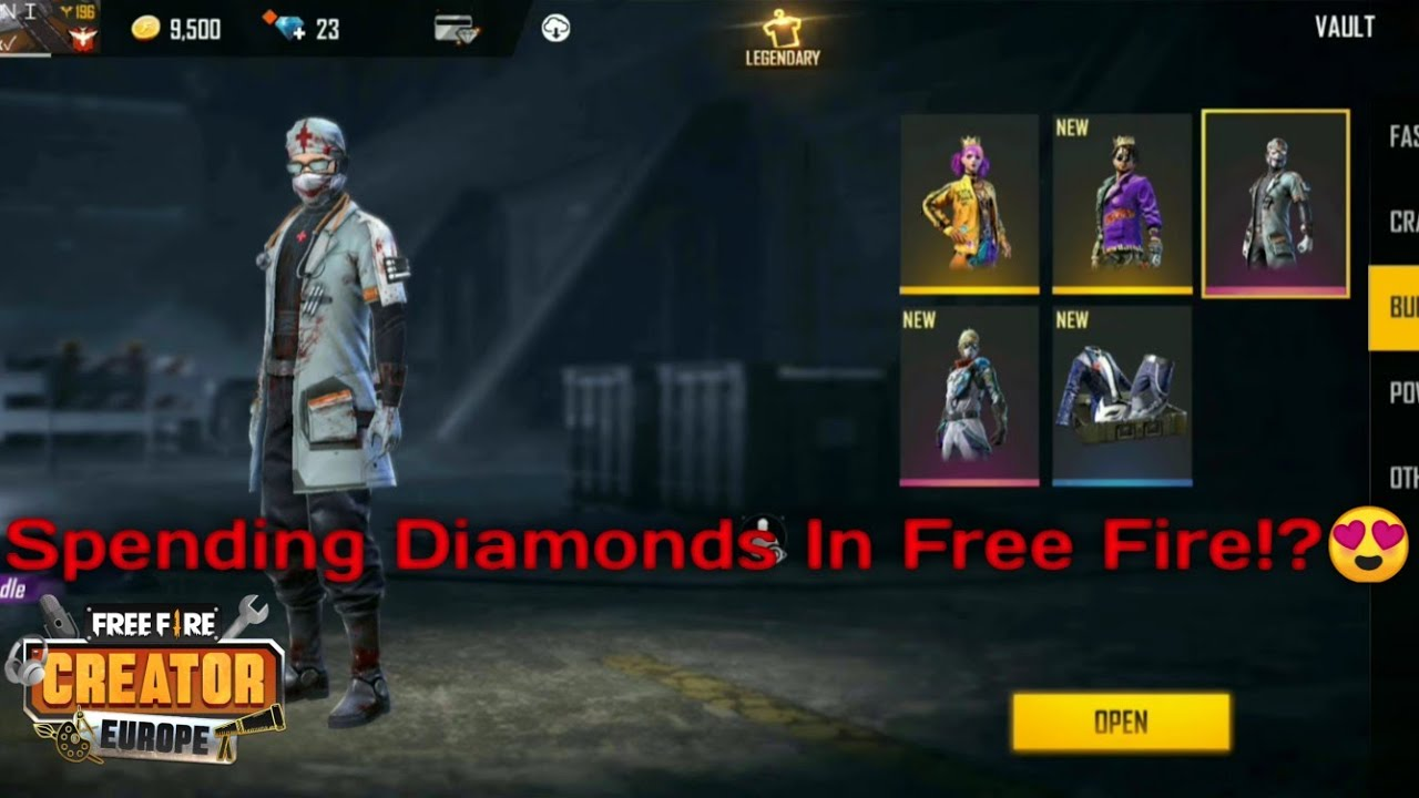 Spending Diamonds In Free Fire?!😍 Ξοδεύω διαμάντια στο Free Fire part 69🤔