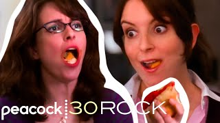 Liz Lemon's Greatest Love Isn't A Man: IT'S FOOD! | Liz LOVES Food Above Everything Else | 30 Rock