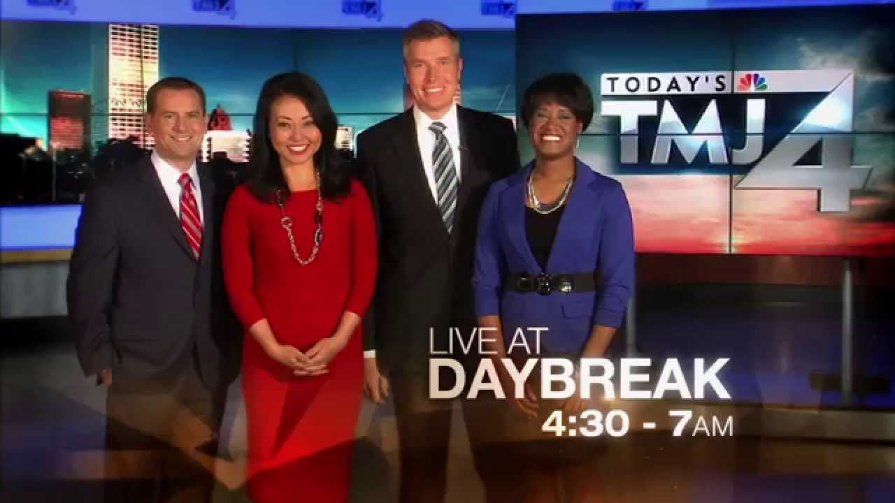 Live at Daybreak on TODAY'S TMJ4