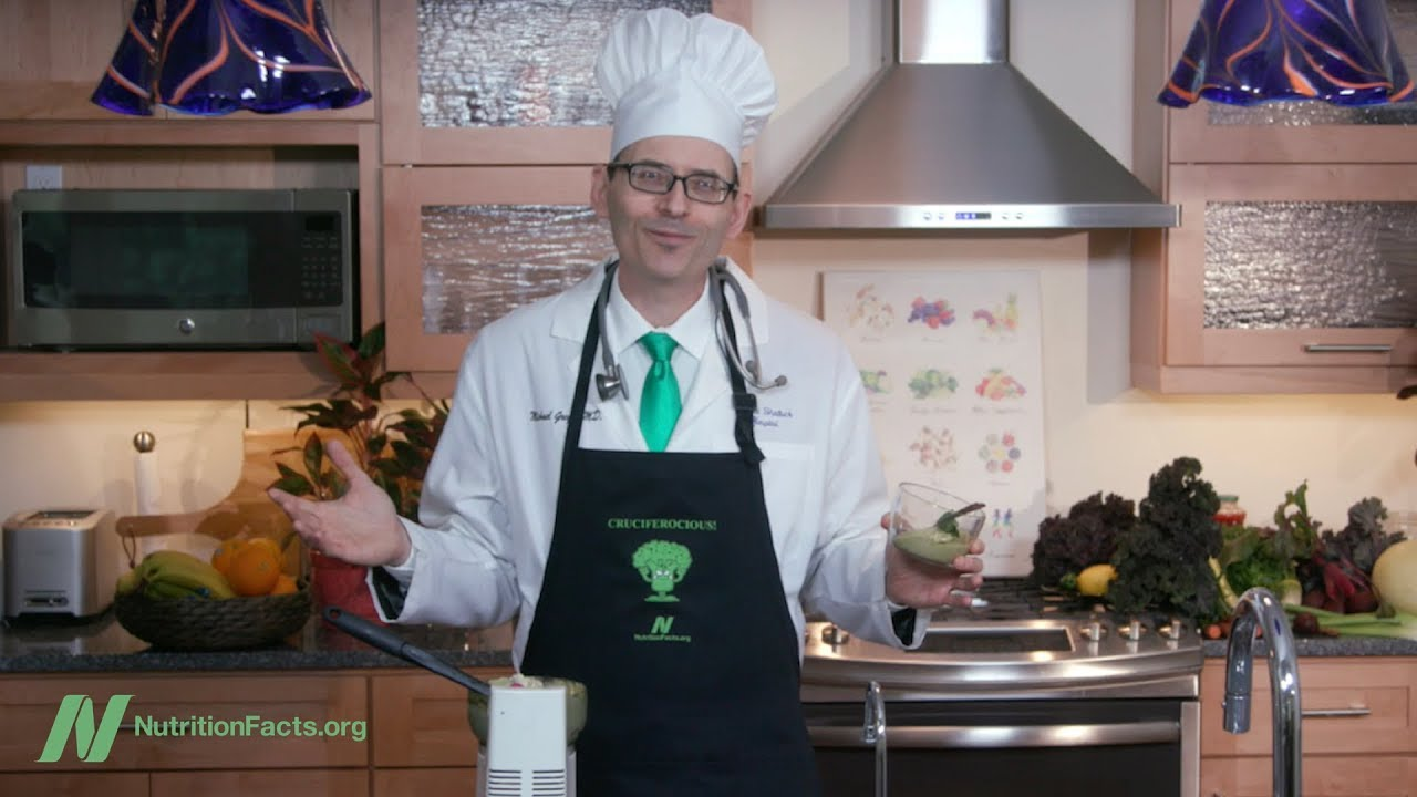 Dr. Greger in the Kitchen: My New Favorite Dessert
