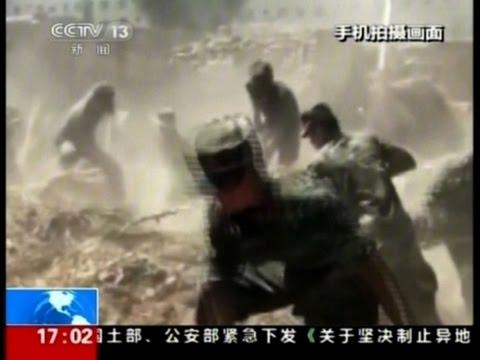 Raw: Damaging Earthquake in Western China