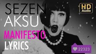 Sezen Aksu Manifesto Lyrics I Şarkı Sözleri