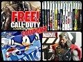 LIVE! GameStop Dumpster Dive #33: FREE Advanced Warfare, Xbox 360 Games, Sonic, THOR Marvel Figure!