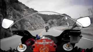 Canyon Cruise - 2004 Kawasaki ZX6R - Swann HD Freestyle 480p 60fps