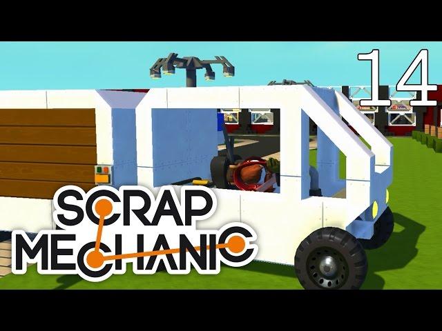 Scrap Mechanic [#14] Projekt Lotnisko - Pojazd transportowy widza!