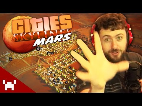 BUILDING A CITY ON MARS! (Cities Skylines: Mars #1)