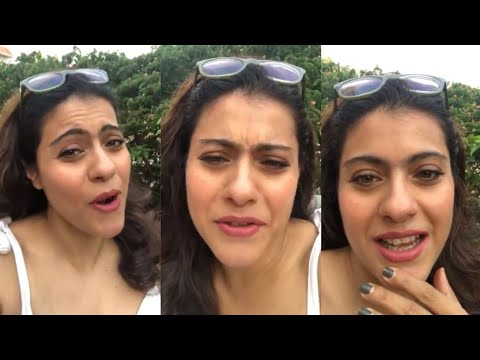 Kajol 0PENLY Shares Husband Ajay Devgn Doing Crazy Things At Home During L0CKD0WN