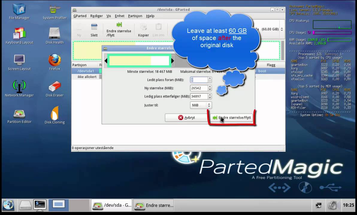 The Best Way to Create Partition after Windows XP Installed