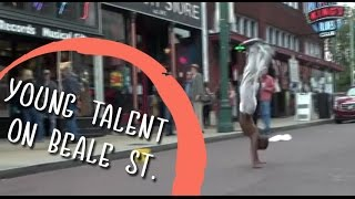 Young Talent on Beale St, Memphis