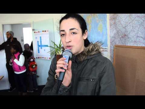 algerien-heute.com, Schülerin der Moufdi-Zakaria Schule, DZD-Kulturzentrum e.V. in Hamburg