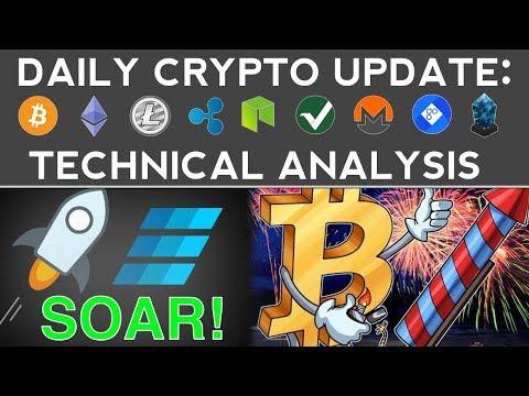 $15'000 BITCOIN? EINSTEINIUM & STELLAR LUMENS SOAR! (12/6/17) Daily Update + Technical Analysis
