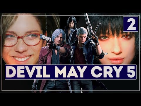 До финала! [+Cекретная концовка] | Марафон Devil May Cry 5 #2 | Адский охотник