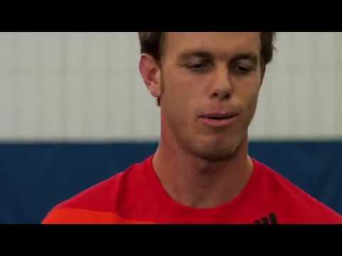 2009 US Open: Gael Monfils vs. Sam Querrey... In Ping-Pong