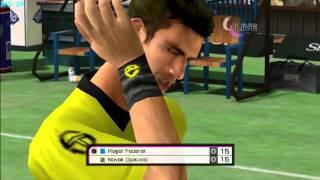 Virtua Tennis 4 on Dolphin v2.0 - Nintendo Wii Emulator