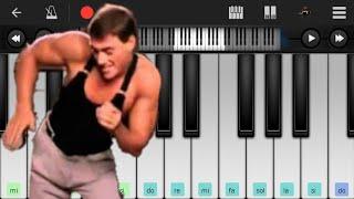 BAILA CONMIGO (MEME😂🤣) - ON PERFECT PIANO