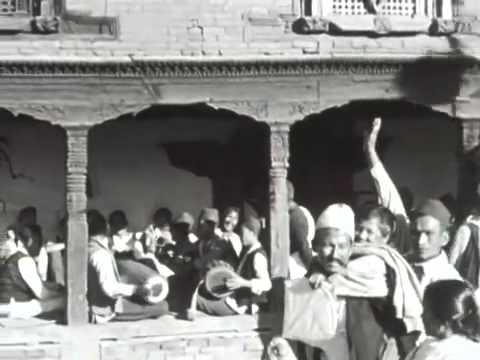 Newar musicians, Nepal 1955 56