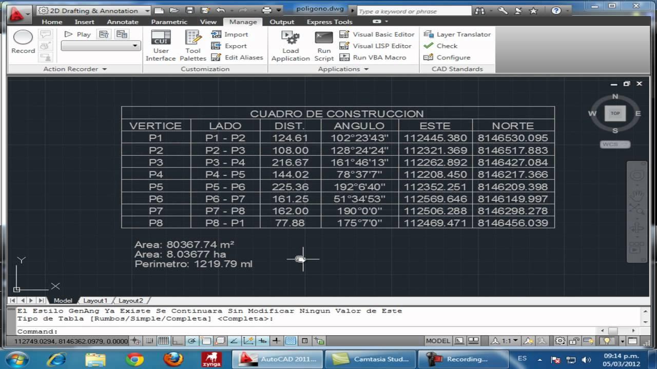Dibujar rapido cuadro de datos tecnicos o cuadro de for Como hacer un cuadro de areas arquitectura