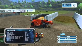Farming Simulator XBOX 360: How to Raise Cows Episode 3 Silage