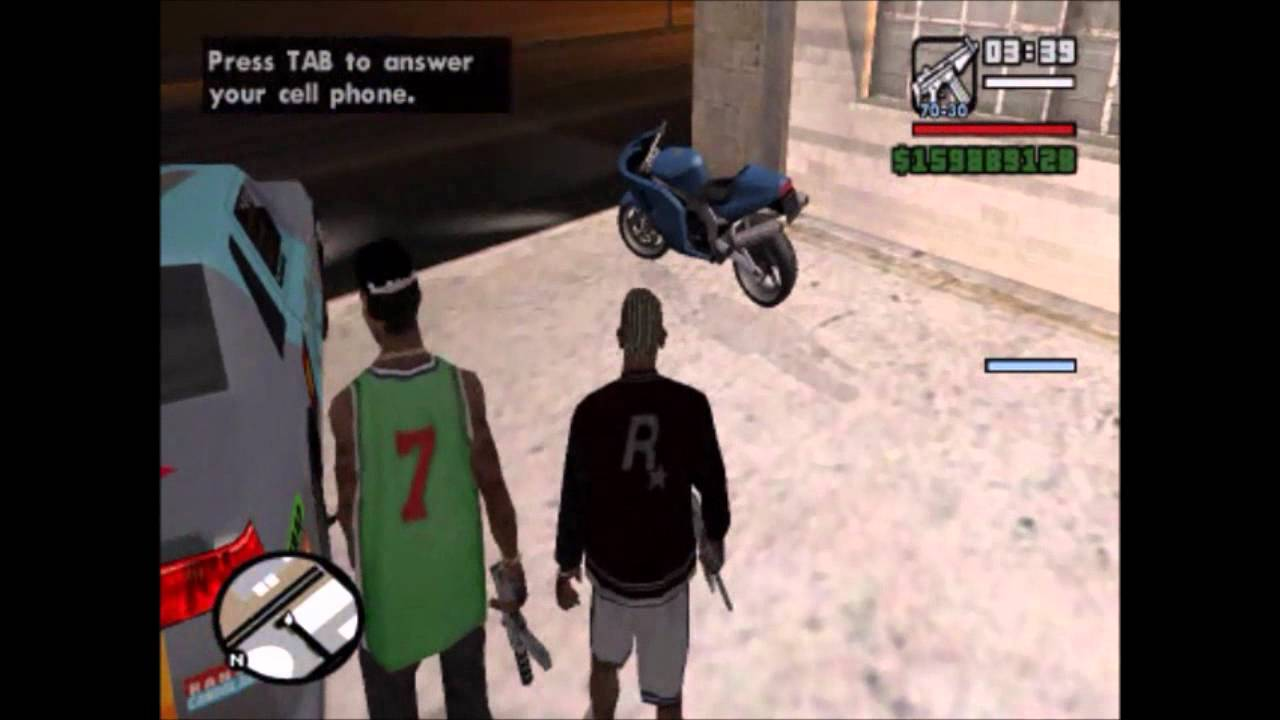 Gta San Andreas How To Find Fcr 900 Youtube