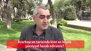 Gambar cover Azərbaycan tarixində kimi ən böyük şəxsiyyət hesab edirsiniz?