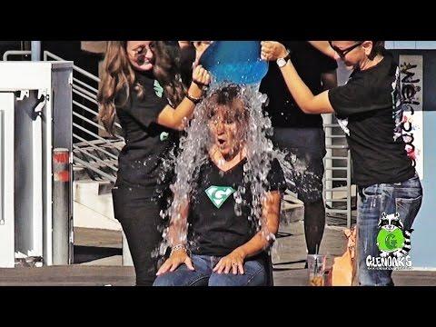 Glenoaks Elementary School Ice Bucket Challenge 08/28/14