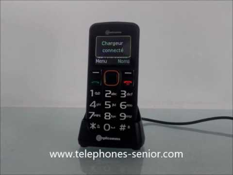 telephone portable senior amplicomms M6300