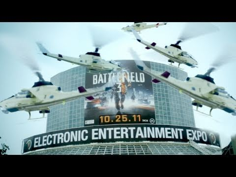 E3 2011 with Freddie and Brandon!