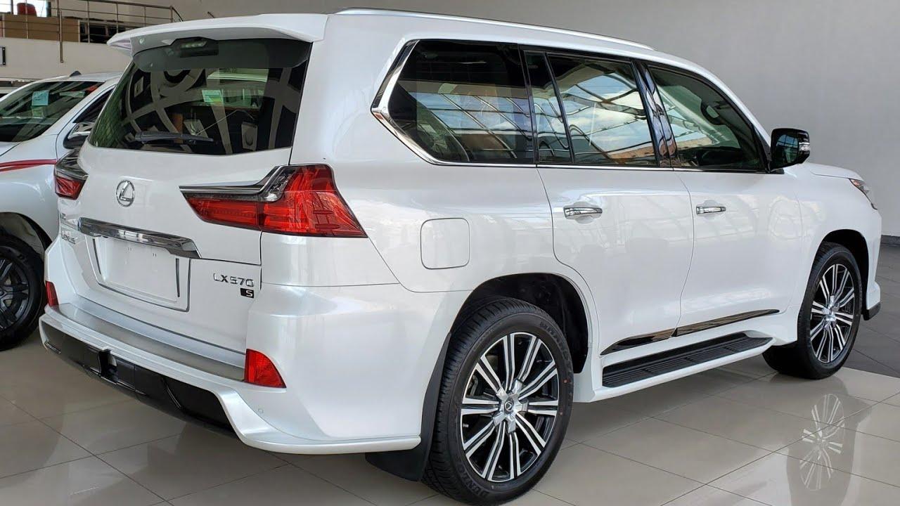 سعر لكزس LX570 جديد وارد بازرعه 2021