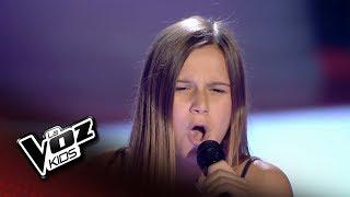 """Paula: """"No Te Pude Retener"""" – Audiciones a Ciegas  - La Voz Kids 2018 thumbnail"""