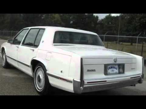 1993 Cadillac Deville Tomball TX 77375 - YouTube