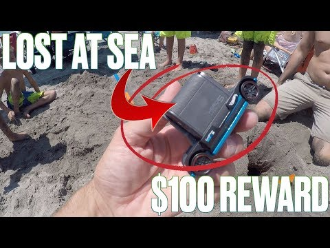 GOPRO LOST IN THE OCEAN | $100 REWARD AND FREE GOPRO FOR FOUND FOOTAGE!