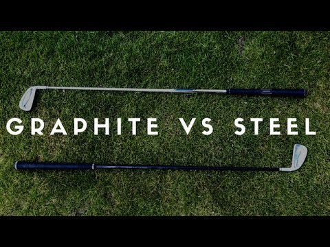 Graphite Shafts Vs Steel Shafts In Irons - Ping I200 Heads