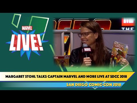Talking Captain Marvel and More with Margaret Stohl Live at SDCC 2018 Mp3