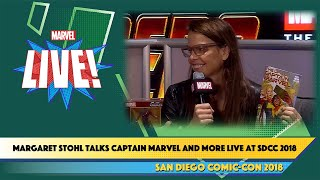 Talking Captain Marvel and More with Margaret Stohl Live at SDCC 2018